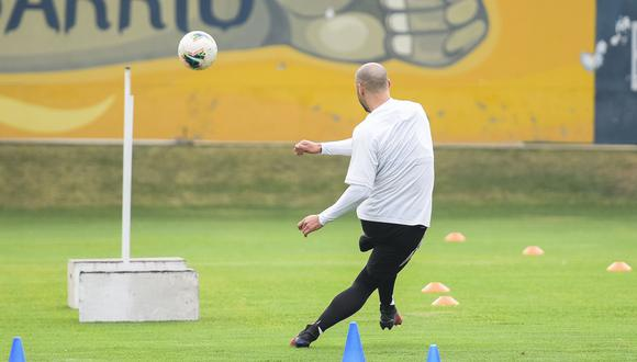Emanuel Herrera habló del presente del equipo y el suyo. (Prensa Sporting Cristal)
