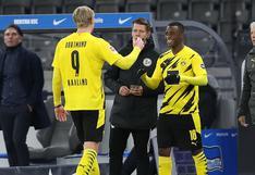 ¡Récord en la Bundesliga! Moukoko se estrenó en Borussia Dortmund con tan solo 16 años