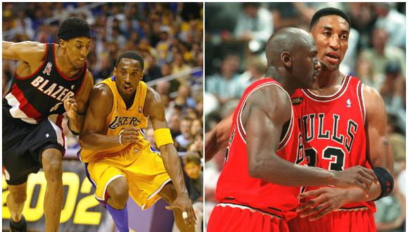 "Scottie Pippen: ""Kobe Bryant era mejor que Michael Jordan, aunque muchos no logren verlo"". (Getty Images)"