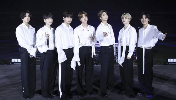 """BTS se presentará esta noche en la edición de madrugada de """"The Late Late Show with James Corden"""". (Foto: American Broadcasting Companies, Inc. / AFP)"""