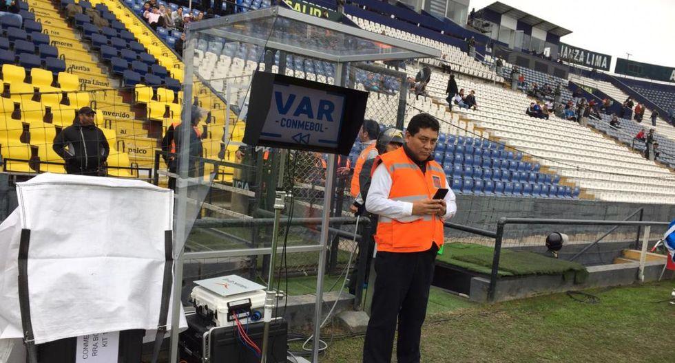 Sporting Cristal vs. Zulia FC: el VAR será implementado por primera vez en Perú. (Foto: Fernando Sangama)