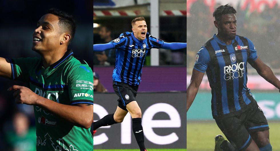 Los más artilleros de Italia: los futbolistas de Atalanta que han marcado 87 goles en la Serie A