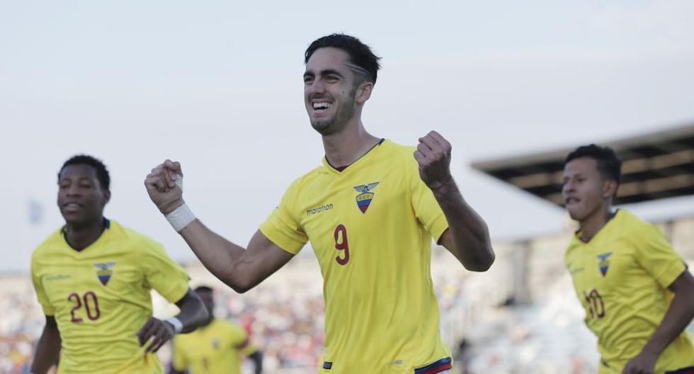 Venezuela vs. Ecuador por la fecha 5 del hexagonal final del sudamericano sub 20. (Photosport Chile)