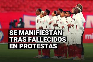 Los jugadores de la selección peruana y sus mensajes tras muertes en segunda marcha nacional