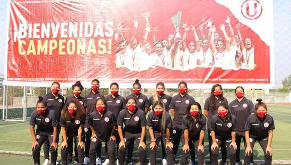 Equipo femenino de Universitario alista su regreso a los entrenamientos. (Foto: Prensa 'U')