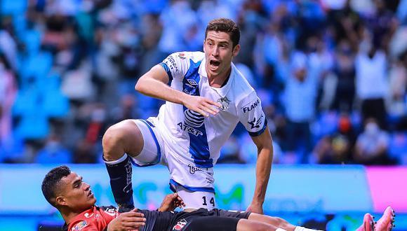 Puebla vs. Atlas se vieron las caras este sábado por los cuartos de final de la Liguilla MX (Foto: Getty Images)