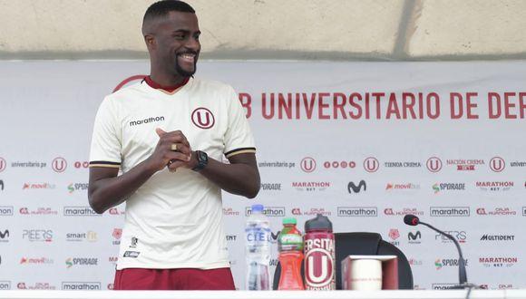 Ramos pidió disculpas a Universitario en su presentación. (Foto: Jesús Saucedo / GEC)