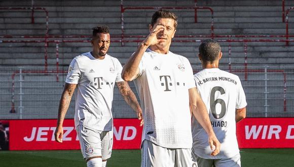 Bayern Munich venció 2-0 al Union Berlin y sigue firme en la cima de la Bundesliga. (Foto: Getty)