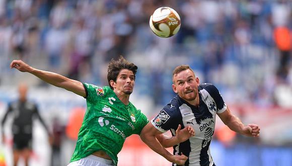 Monterrey vs. Santos Laguna se vieron las caras este domingo por la Liguilla MX 2021 (Foto: Getty Images)