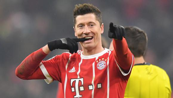 Robert Lewandowski tiene ofertas de Real Madrid y Juventus (Foto: Getty Images).