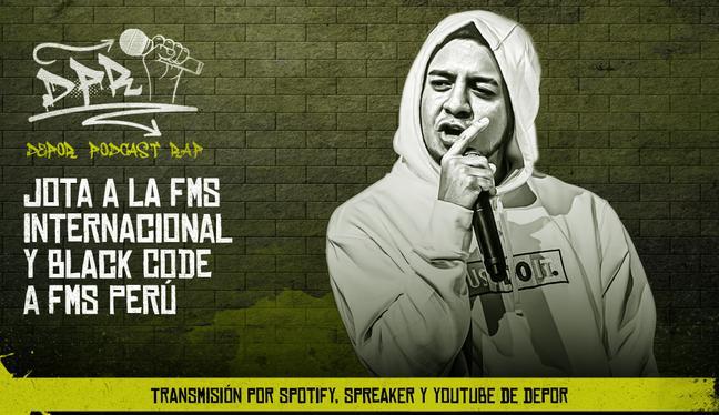 Jota a FMS Internacional y Black Code a FMS Perú