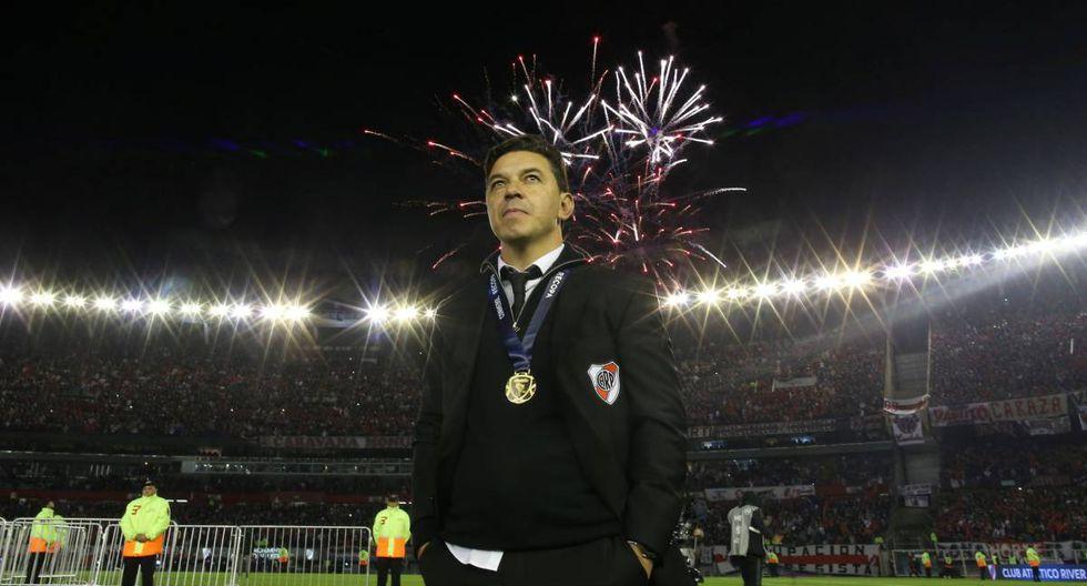 Marcelo Daniel Gallardo, emblema de River Plate y mejor técnico de su historia. (Foto: Reuters)