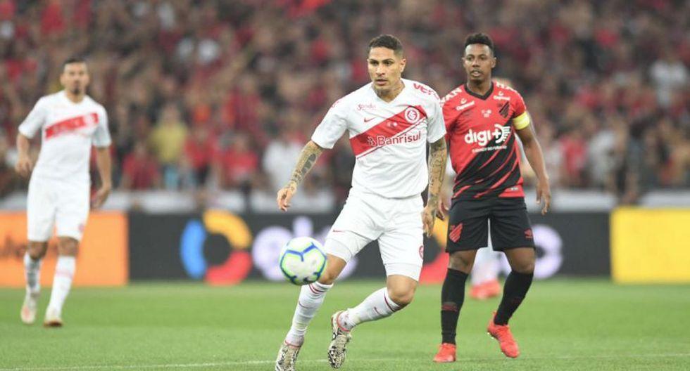 Internacional vs Paranaense: con Guerrero por final de Copa Brasil