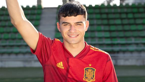 Pedri se volvió titular indiscutible en la Selección de España. (Foto: Twitter)