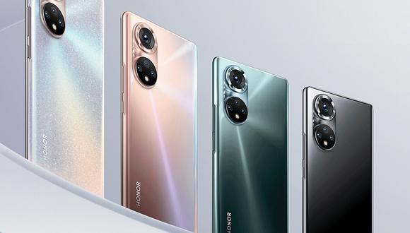 Honor lanza a nivel mundial sus nuevos smartphones independientes: Honor 50 y Honor 50 Pro. (Foto: Honor)