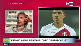 """Ricardo Gareca: """"Farfán y Paolo no tienen la intención de dejar el fútbol"""""""