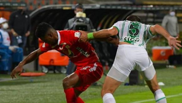 América de Cali vs. Atlético Nacional se enfrentaron por Liga BetPlay. (Foto: Agencias)