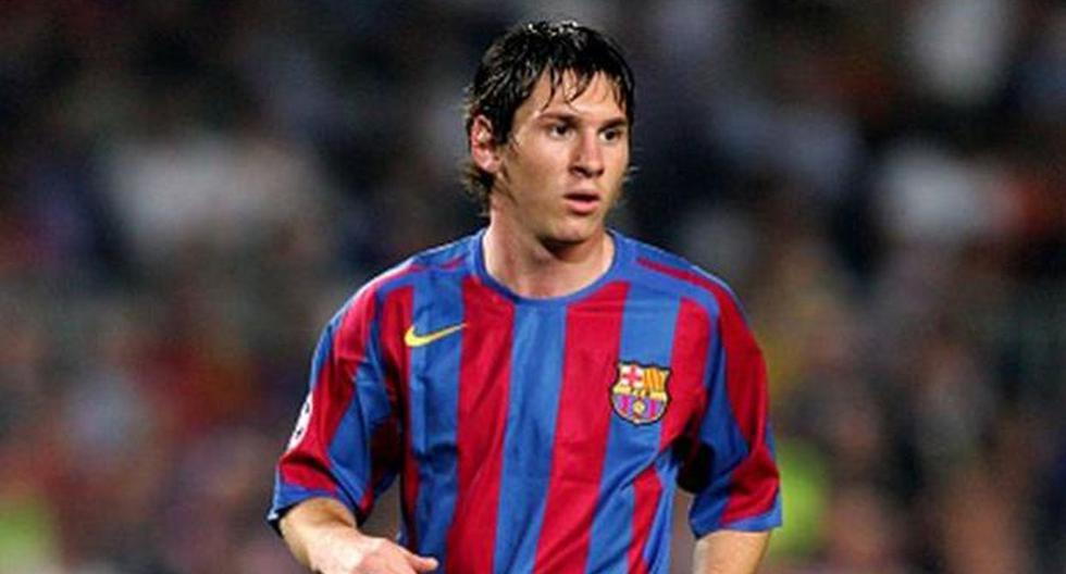 Lionel Messi, de Newell's y River Plate.