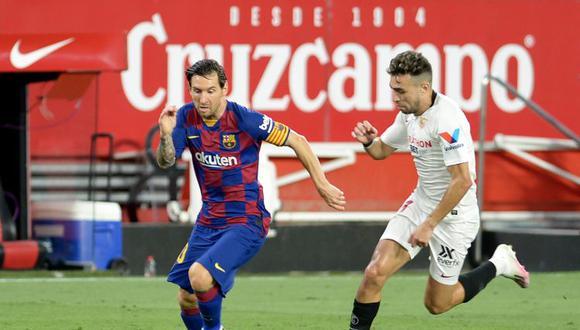 Barcelona vs. Sevilla se enfrentaron en Andalucía por LaLiga. (Foto: AFP)