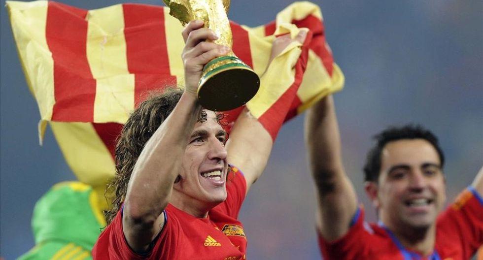 Carles Puyol se alejó del fútbol y vive de sus negocios. (Getty)