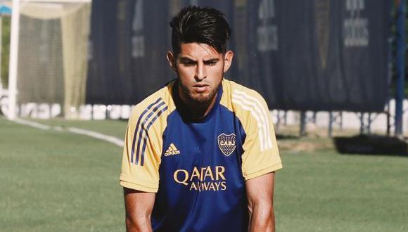 Carlos Zambrano es jugador de Boca Juniors desde enero del 2020. (Foto: Boca Juniors)
