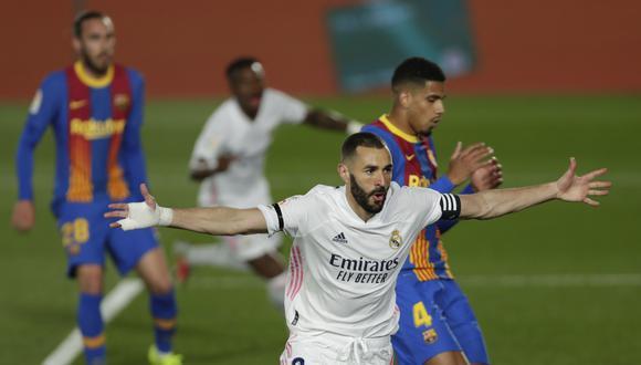 Real Madrid venció a Barcelona en el Clásico 2021