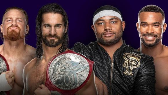 Las duplas pelearán el jueves de la próxima semana. (Foto: WWE)