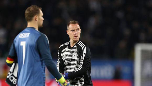 DT de Alemania sienta a Ter Stegen y reafirma a Neuer como el arquero titular. (Getty)