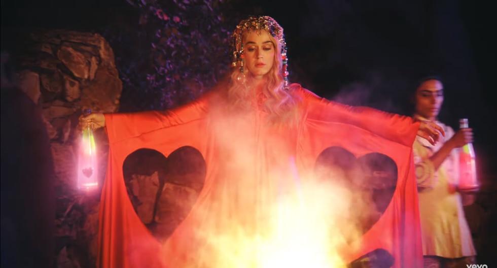 "Katy Perry lanza nuevo single ""Never Really Over"" (Foto: Captura de pantalla)"