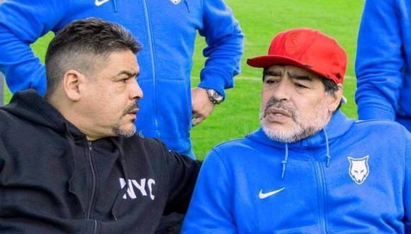 Hermano de Maradona mostró su indignación. (Foto: Instagram)