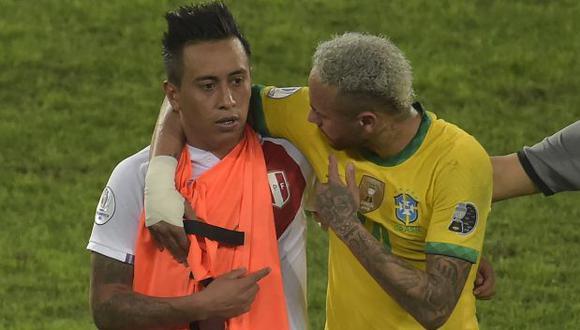 Christian Cueva confesó qué le dijo Neymar en las semifinales de la Copa América. (Foto: AFP)