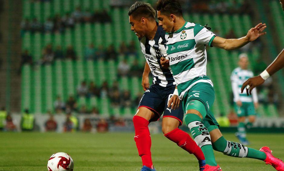 Monterrey y Santos Laguna empataron sin goles en el estadio Corona por cuartos de final de la Copa MX 2020.