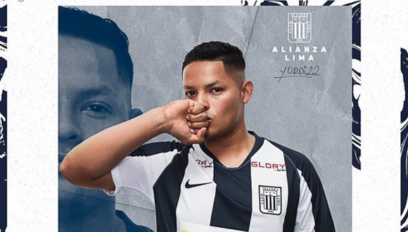 Yordi Vilchez es el nuevo jugador de Alianza Lima. (Foto: Alianza Lima)
