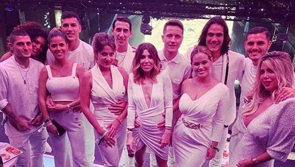 Así fue la última fiesta de Neymar con sus compañeros del PSG. (Foto: Instagram)