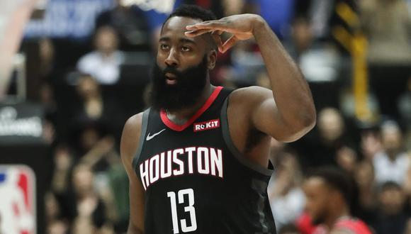 James Harden llegó a Houston en la temporada 2012-2013 (Foto: AP)