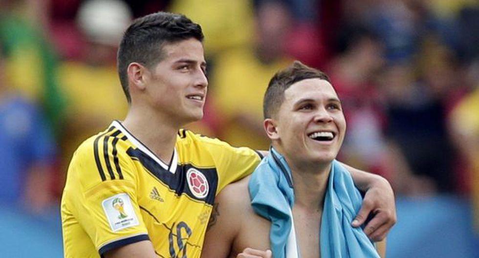 José Pékerman esperará a James Rodríguez hasta el último día del choque ante Inglaterra. (Foto: Agencias)