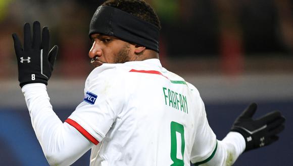 Bajo la dirección técnica de Semin, Farfán ganó la Liga Premier rusa, dos Copas y una Supercopa de ese país. (Foto: AFP)