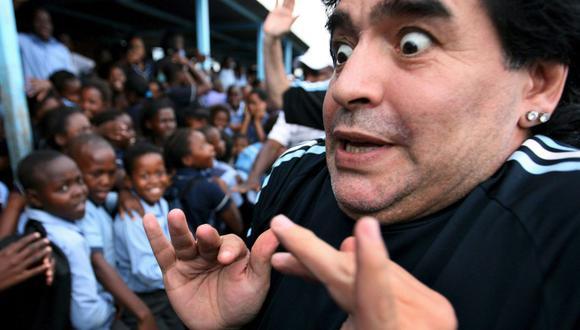 Diego Maradona murió a los 60 años tras un paro cardiorrespiratorio. (Internet)