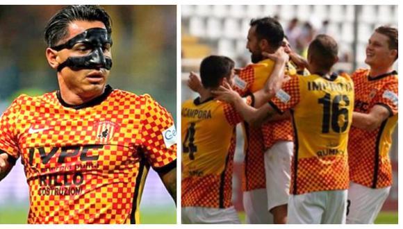 Lapadula participó en nueva victoria de Benevento. (Foto: Agencias)