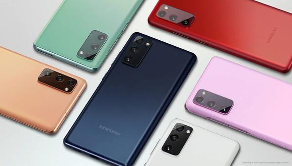 Conoce las características del nuevo smartphone de Samsung, el Galaxy S20 FE. (Foto: Samsung)