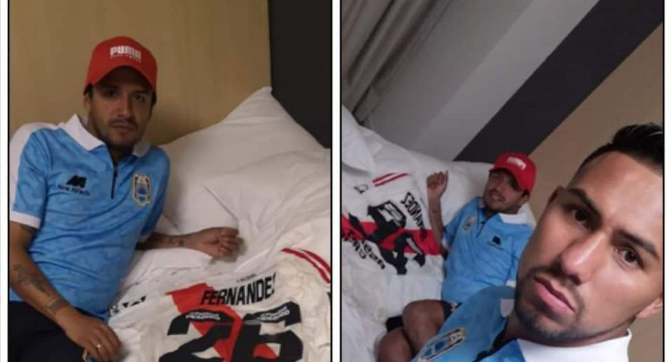 El futbolista de Deportivo Binacional sí recibió la camiseta del 'Nacho, según publicó Ángel Ojeda.