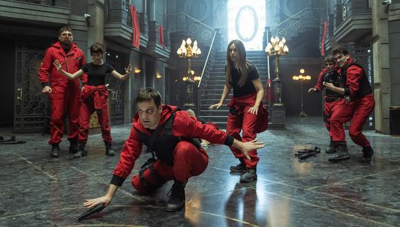 """""""La casa de papel"""": Actores explican el significado del traje rojo que los acompañó por cinco temporadas. (Foto: Netflix)"""