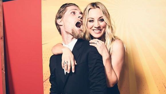 Kaley Cuoco y Karl Cook se separan después de 3 años de matrimonio. (Foto: Instagram).