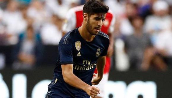 Marco Asensio no estaría contento en el Real Madrid y habría comunicado su intención de salir en este mercado de pases. (Foto: Getty)
