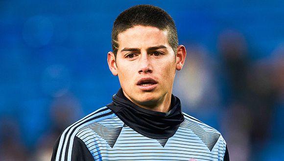 James Rodríguez ya se encuentra recuperado de un golpe a la cadera que sufrió ante la Real Sociedad por Copa del Rey. (Getty Images)