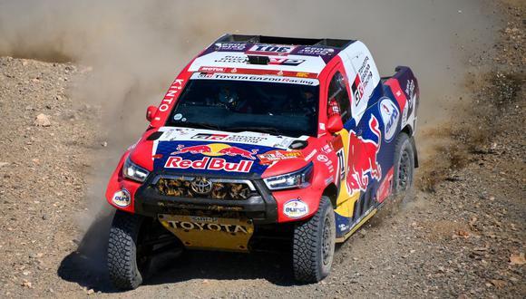 Nasser Al-Attiyah se quedó con la victoria de la cuarta etapa del Dakar 2021. (Foto: AFP)