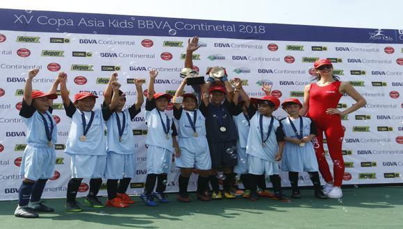 Copa Asia Kids: No dejes de ver la tabla de resultados de la gran Finalísima