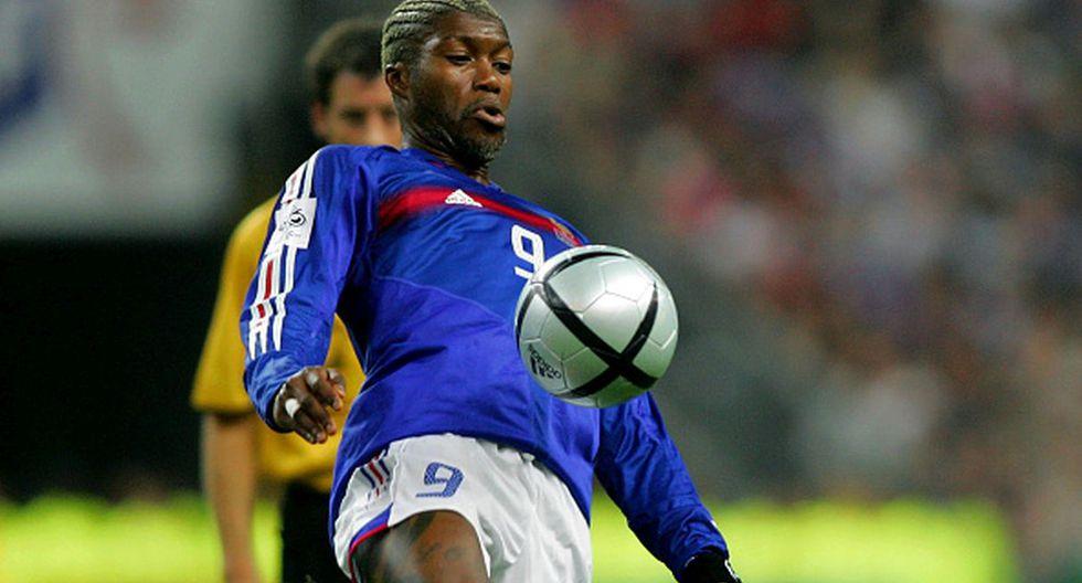 Djibril Cissé se perdió el Mundial de Alemania 2006 con Francia por una rotura de tibia y peroné en su pierna derecha. (Getty Images)