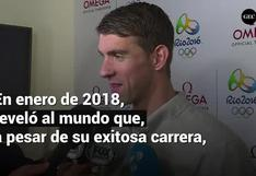 Michael Phelps y su lucha contra la depresión que vive en medio de la pandemia por el coronavirus