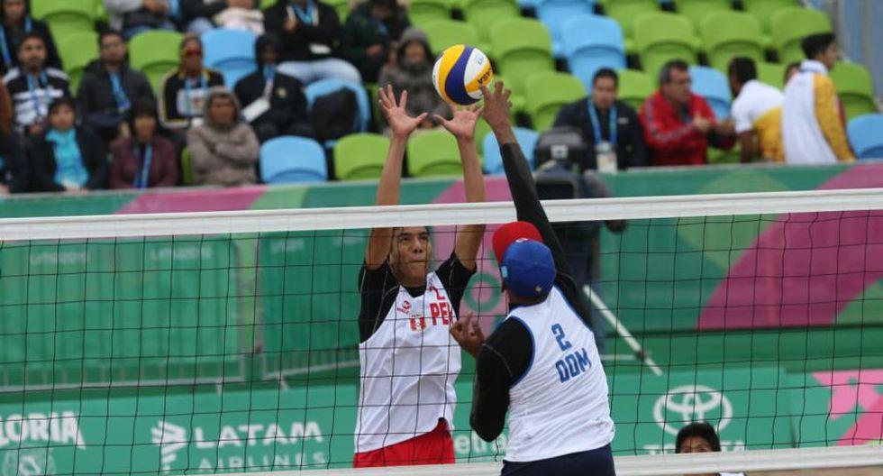 Perú cayó por 2-0 frente a República Dominicana en vóley playa masculino de Lima 2019. (Fotos: Violeta Ayasta)